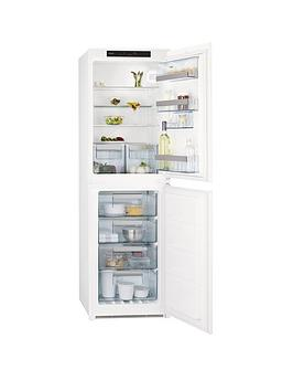 Aeg Scn71800S1 55Cm Wide Integrated Fridge Freezer  White