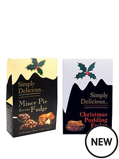christmas-pudding-amp-mince-pie-fudge-selection-150g-x-2