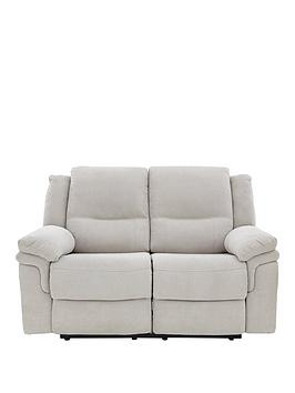 Very Albion Fabric 2 Seater Manual Recliner Sofa Picture