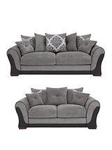 Anais 3-Seater + 2-Seater Sofa Set (Buy and SAVE!)