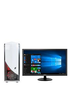 zoostorm-stormforce-glacier-gaming-desktop-pc-bundle-white-ndash-intel-core-i5-6400-27ghz-8gb-ram-1tb-hhd-nvidia-geforce-gtx-1050-graphics-dvdrw-wifi-windows-10