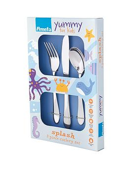 amefa-splash-2-pack-kids-cutlery-set