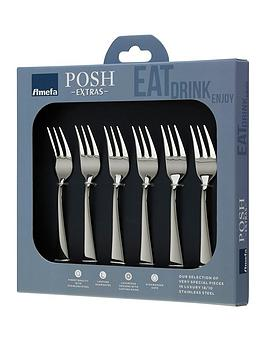 amefa-oxford-6pc-posh-extra039s-pastry-forks