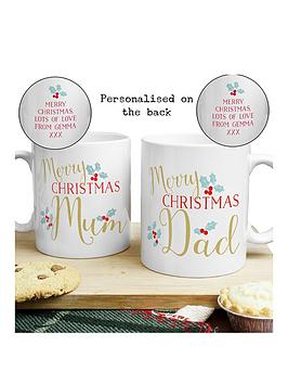 personalised-christmas-mum-amp-dad-mug-set