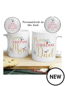 personalised-christmas-mum-amp-dad-mug-set