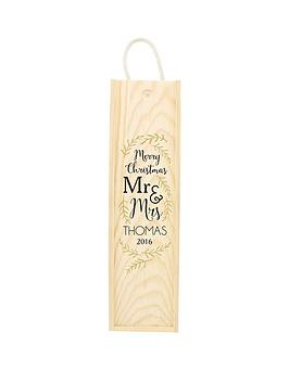 personalised-1st-christmas-as-mr-amp-mrs-wooden-wine-gift-box