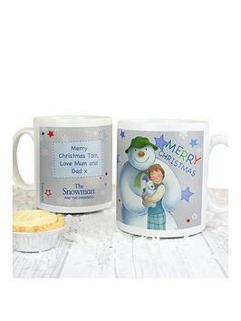 the-snowman-personalised-mug