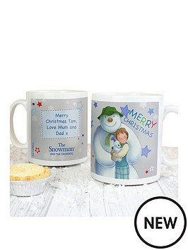 the-snowman-personalised-mug