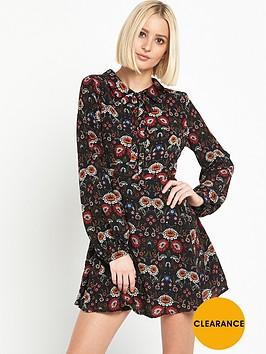 glamorous-printed-dress