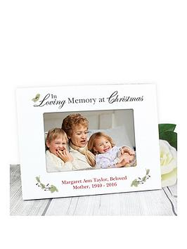 personalised-in-loving-memory-at-christmas-photo-frame
