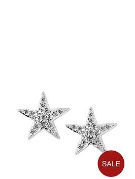 links-of-london-links-of-london-sterling-silver-diamond-set-star-stud-earrings