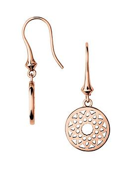 links-of-london-sterling-silver-rose-gold-plated-timeless-drop-earrings