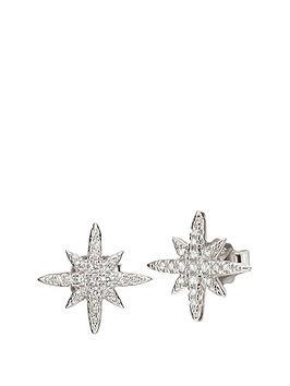 folli-follie-folli-follie-sterling-silver-cubic-zirconia-snowflake-stud-earring