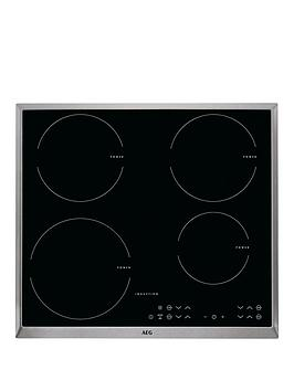 Aeg Hk634200Xb 60Cm Wide Induction Hob  Black