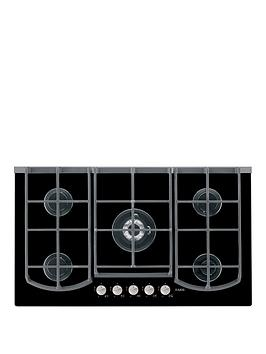 Aeg Hg995440Nb 90Cm Wide Gas Hob  Black