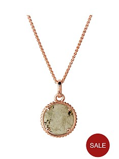 links-of-london-links-of-london-amulet-sterling-silver-18kt-rose-gold-plate-labrodite-pendant