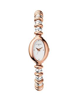links-of-london-links-of-london-staineless-steel-rose-gold-sweetheart-bracelet-ladies-watch