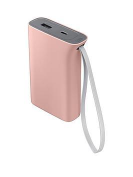 Samsung Evo Battery Pack (10200Mah) Kettle Design  Baby Pink