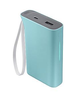 Samsung Evo Battery Pack (5100Mah) Kettle Design  Baby Blue
