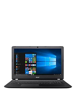 Acer Aspire Es 15 Intel&Reg Pentium&Reg 4Gb Ram 128Gb Ssd 15.6 Inch Full Hd Laptop With Optional Microsoft Office 365 Home  Black