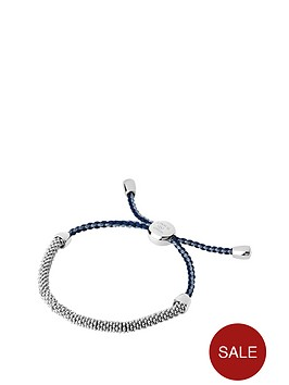 links-of-london-links-of-london-sterling-silver-effervescence-xs-blue-cord-bracelet