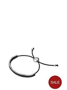 links-of-london-links-of-london-sterling-silver-18kt-rose-gold-plated-black-mini-friendship-cord-bracelet