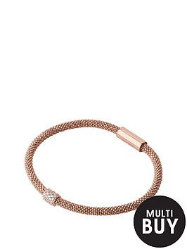 links-of-london-sterlingnbspsilver-rose-gold-plated-star-dust-braceletnbspadd-item-lxv4l-to-basket-to-receive-free-bracelet-with-purchase-for-limited-time-only