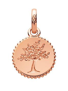 links-of-london-sterling-silver-rose-gold-plate-tree-of-life-charm