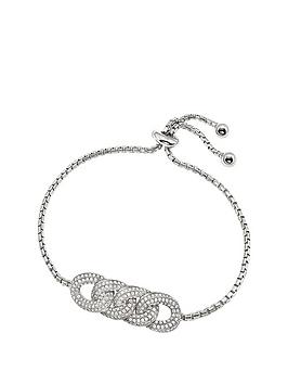 folli-follie-folli-follie-sterling-silver-cubic-zirconia-knots-toggle-bracelet