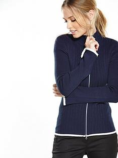 v-by-very-zip-up-tipped-cardigan-with-flared-sleevesnbsp