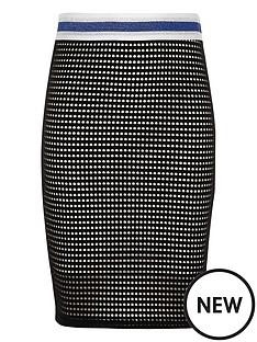 river-island-girls-black-and-white-mesh-tube-skirt