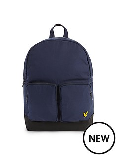 lyle-scott-lyle-amp-scott-2-pocket-backpack