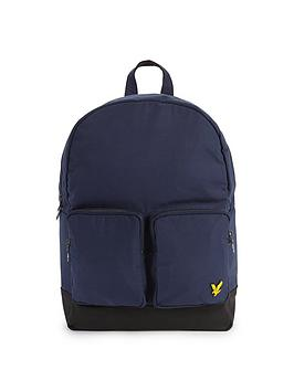 Lyle & Scott Lyle &Amp Scott 2 Pocket Backpack