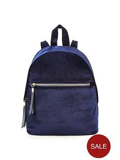 v-by-very-velvet-mini-backpack