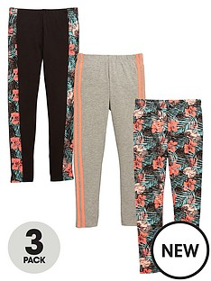 v-by-very-girls-floral-and-stripe-leggings-3-pack