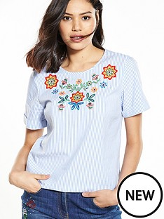 v-by-very-embroidered-top
