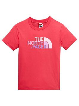 The North Face The North Face Older Girls Short Sleeve Easy Tee