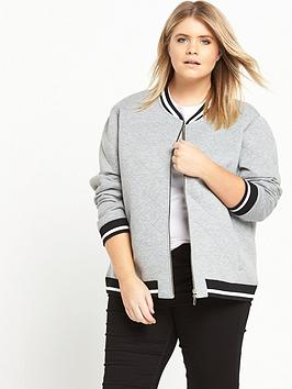 ri-plus-quilted-bomber-jacket-grey