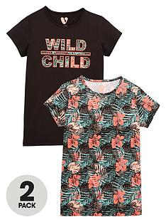 v-by-very-girls-floral-printed-t-shirts-2-pack