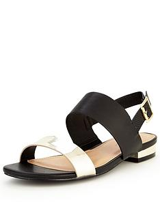 v-by-very-piper-sporty-metallic-flat-sandal