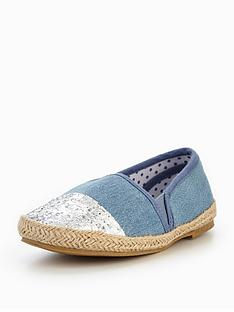 mini-v-by-very-margo-girls-denim-plimsoll