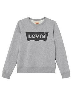 levis-boys-logo-sweatshirt-grey-marl