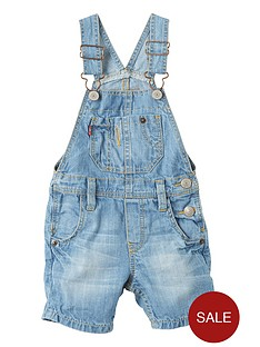 levis-short-leg-denim-dungaree