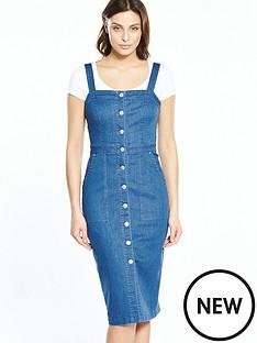 v-by-very-pencil-denim-dress