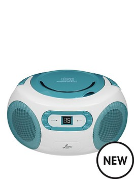 lava-boombox-cd-player-with-fm-radio-teal