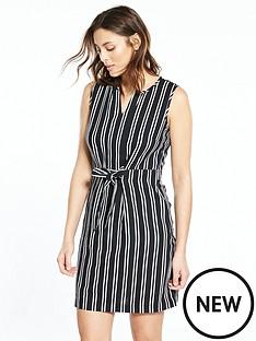 v-by-very-stripe-linen-mix-dress-monochromenbsp