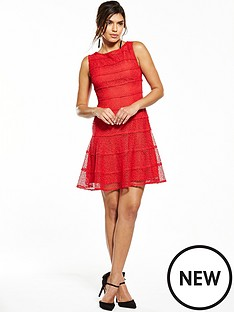 v-by-very-lace-panelled-skater-dress-rednbsp
