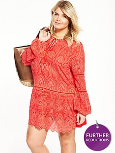 v-by-very-curve-brodie-long-sleeve-dropped-hemnbsptunic-red