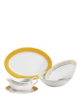 majestic-gold-5-piece-serving-set