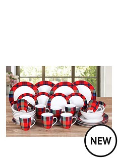 red-tartan-32-piece-dinner